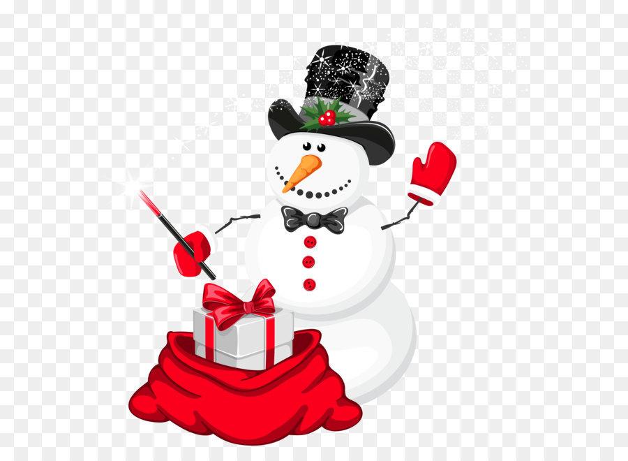 Descarga gratuita de Muñeco De Nieve, La Navidad, Mago imágenes PNG