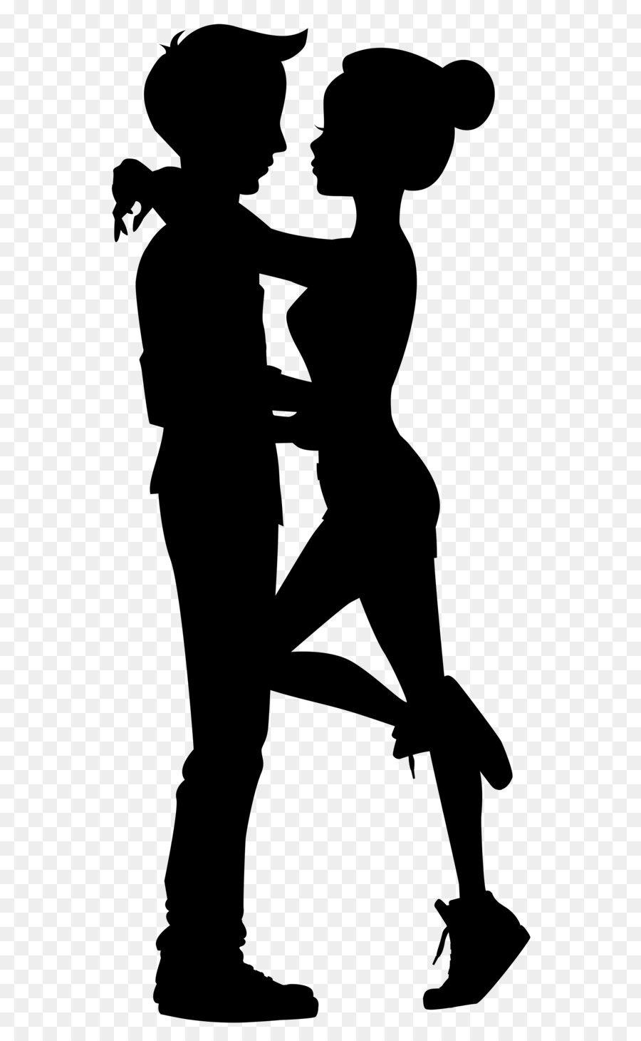 Descarga gratuita de Silueta, Pareja, El Amor Imágen de Png