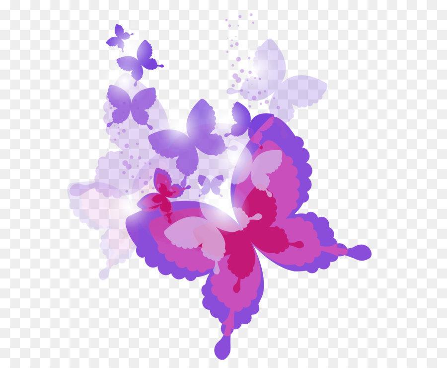 Descarga gratuita de Mariposa, Color, Rosa imágenes PNG