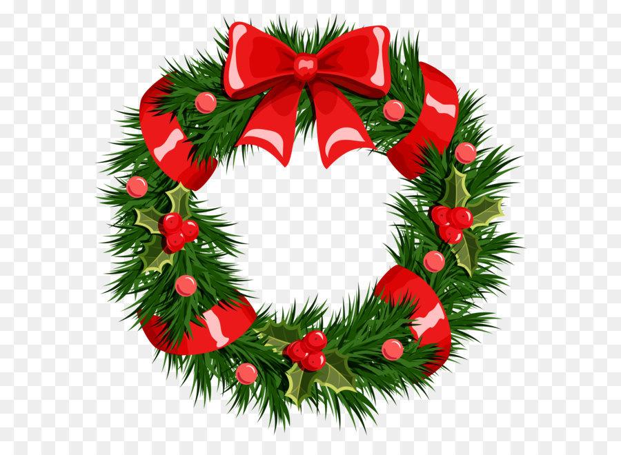 Descarga gratuita de La Navidad, Corona, Guirnalda imágenes PNG