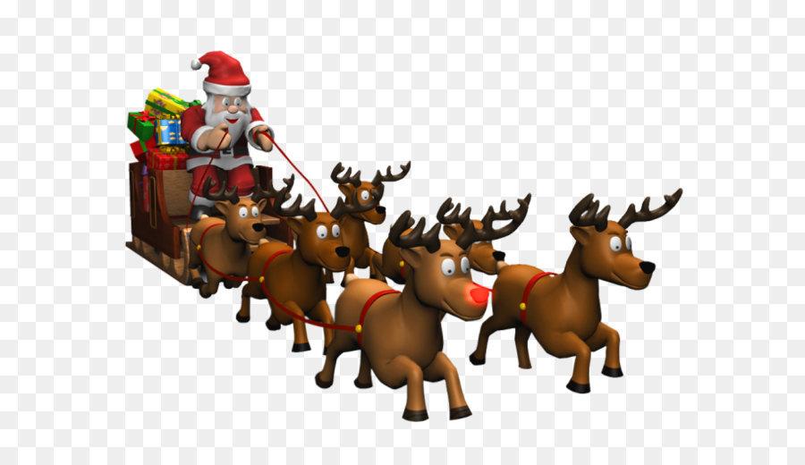 Descarga gratuita de Santa Claus, Trineo, La Navidad imágenes PNG