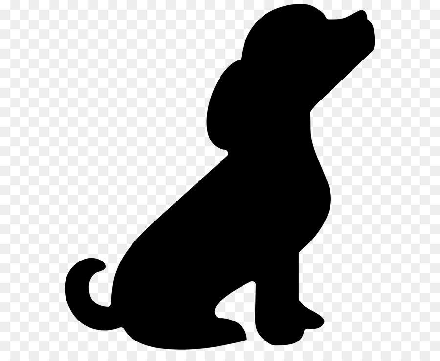 Descarga gratuita de Cachorro, Silueta, La Lindura imágenes PNG