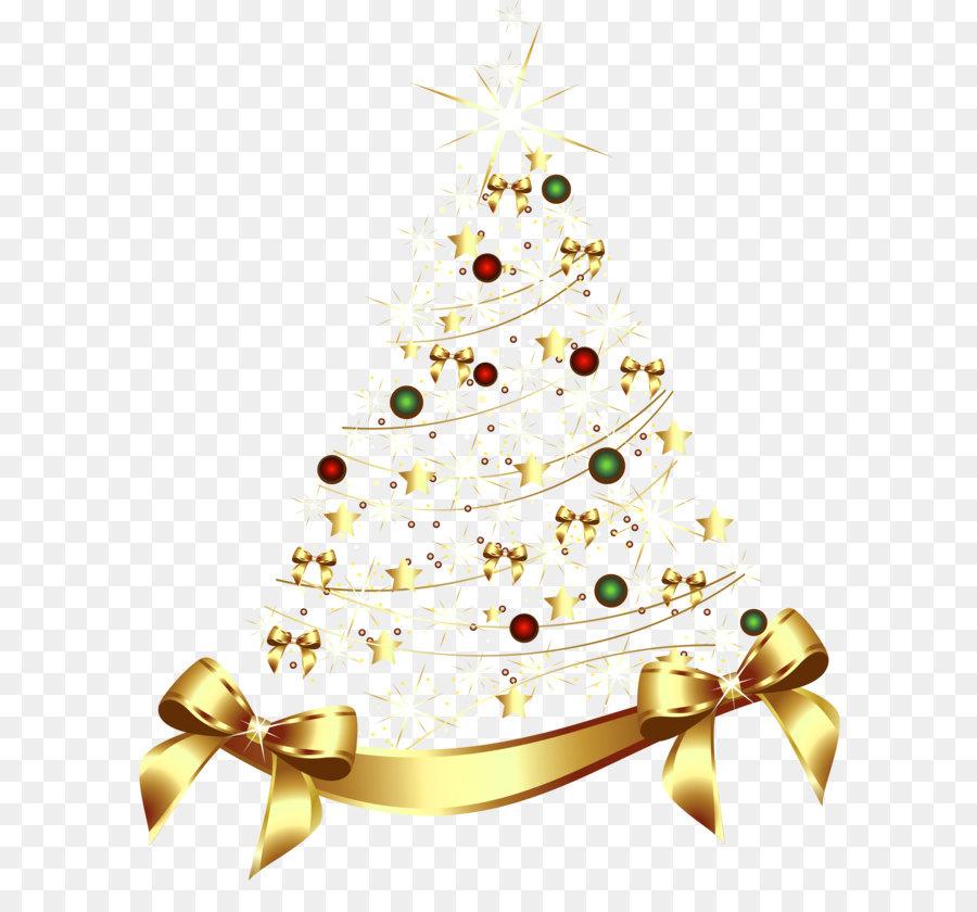 Descarga gratuita de La Navidad, Oro, árbol imágenes PNG