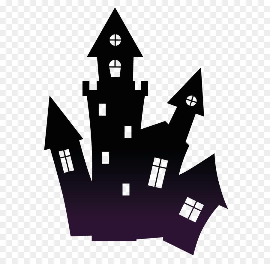 Descarga gratuita de Casa, Fantasma, Silueta imágenes PNG