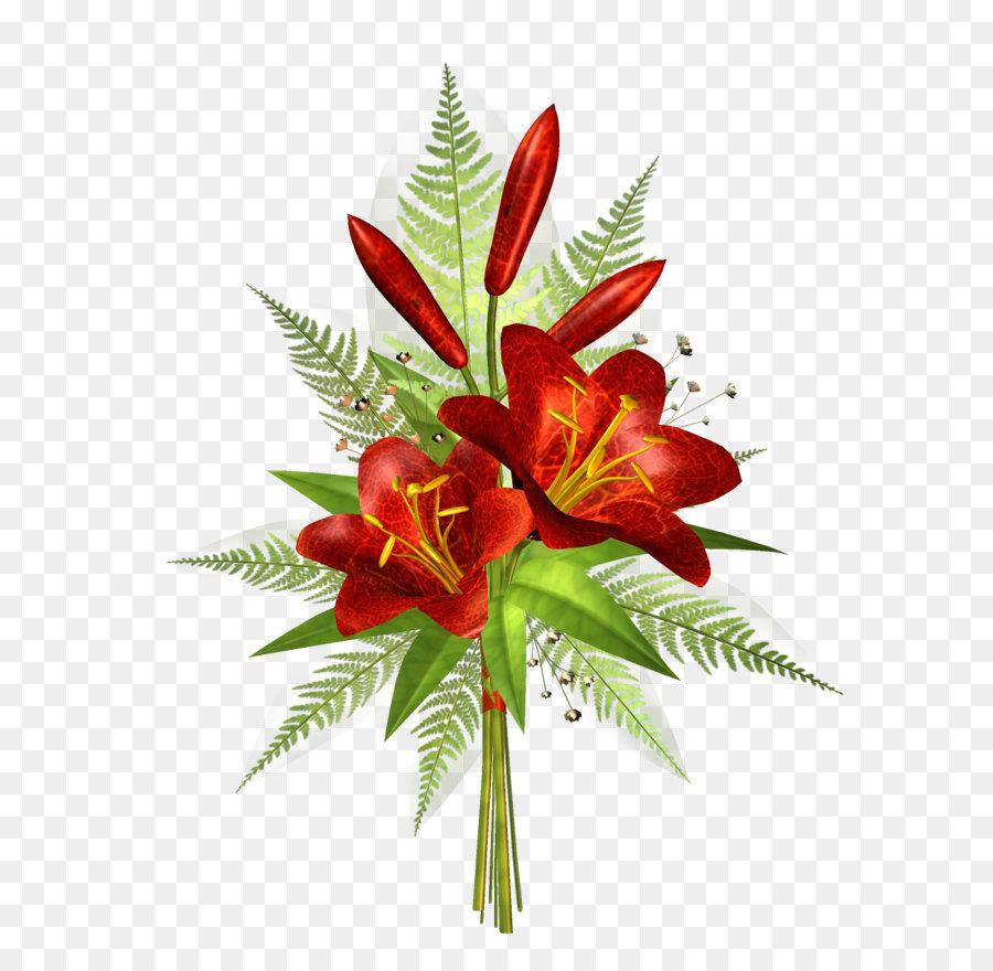 Descarga gratuita de Flor, Lilium, Rojo Imágen de Png