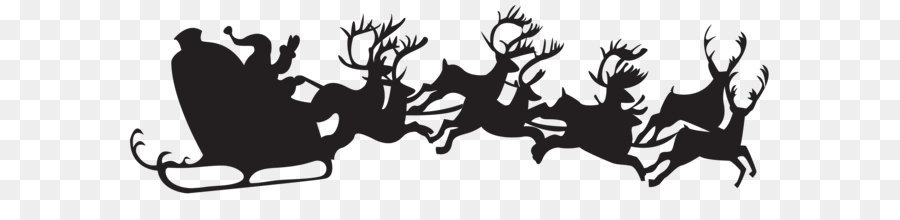 Descarga gratuita de Santa Claus, La Navidad, Silueta Imágen de Png