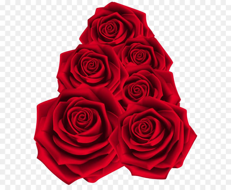Descarga gratuita de Rojo, Flores, Día De San Valentín Imágen de Png