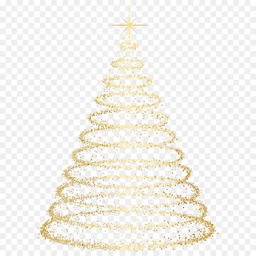 Descarga gratuita de árbol, La Navidad, Oro Imágen de Png