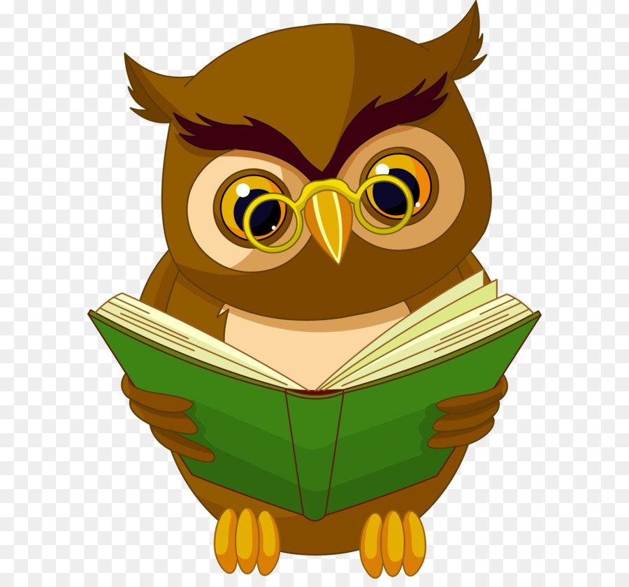 Descarga gratuita de Aves, Libro, Un Sabio Viejo Búho imágenes PNG