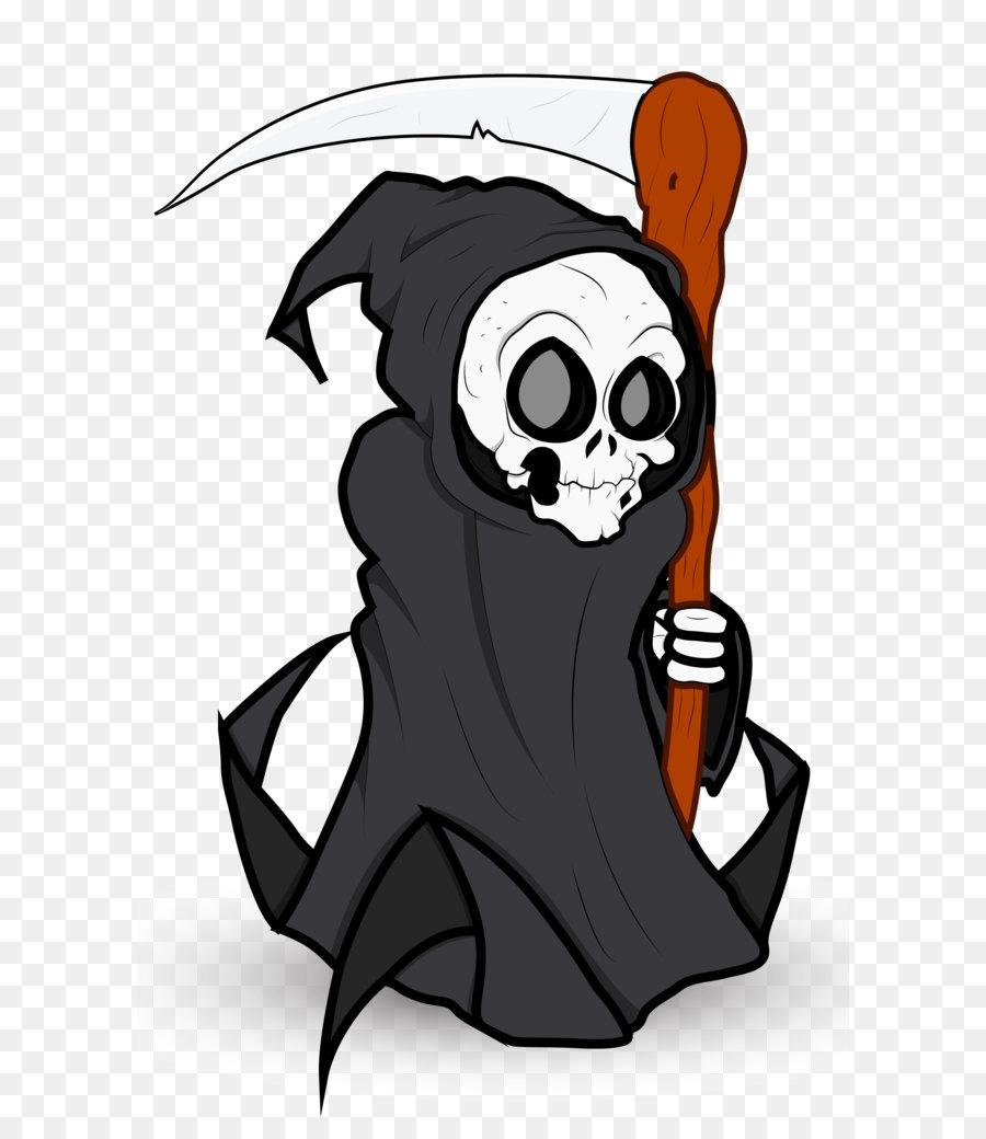 Descarga gratuita de La Muerte, Grim Reaper, Dibujo Imágen de Png