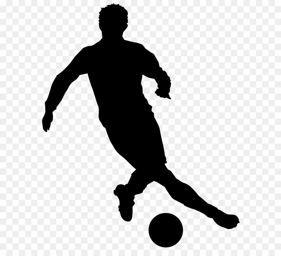 Descarga gratuita de Fútbol, Silueta, Jugador imágenes PNG