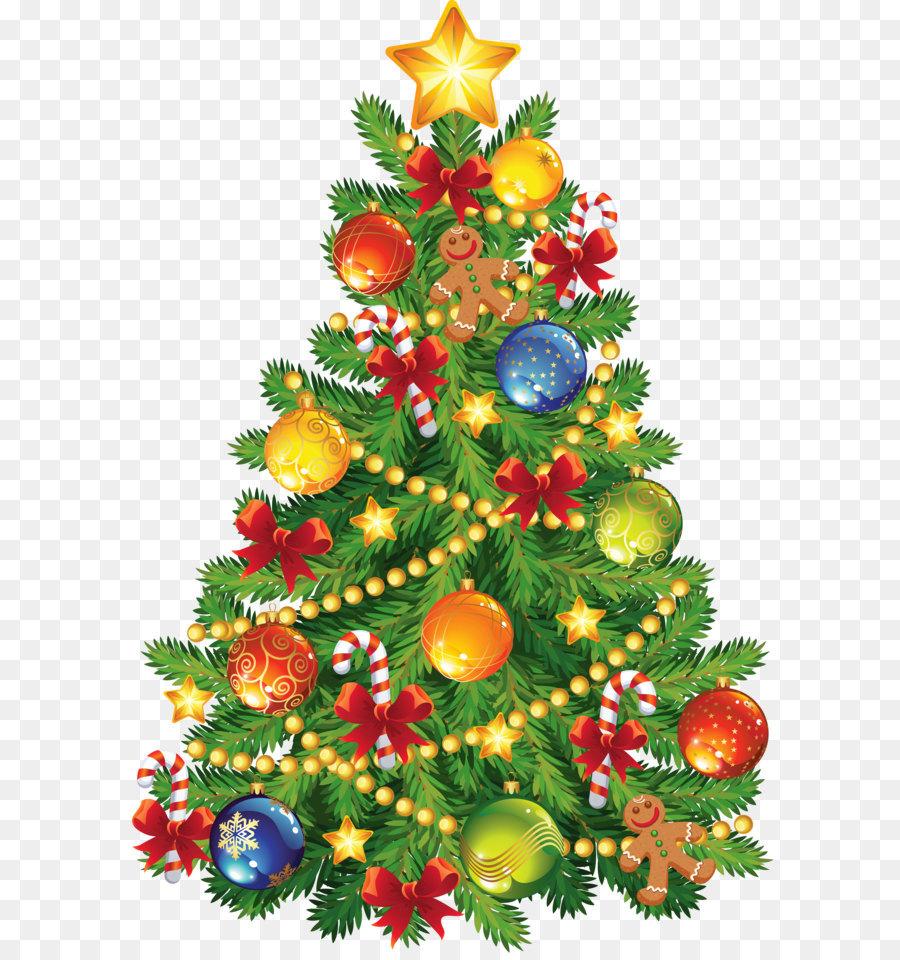 Descarga gratuita de La Navidad, Santa Claus, árbol Imágen de Png