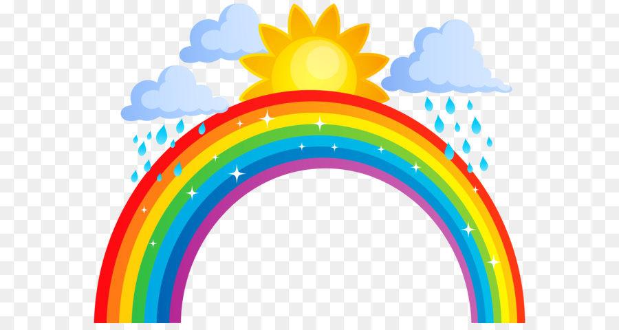 Descarga gratuita de Arco Iris, La Nube, La Lluvia Imágen de Png