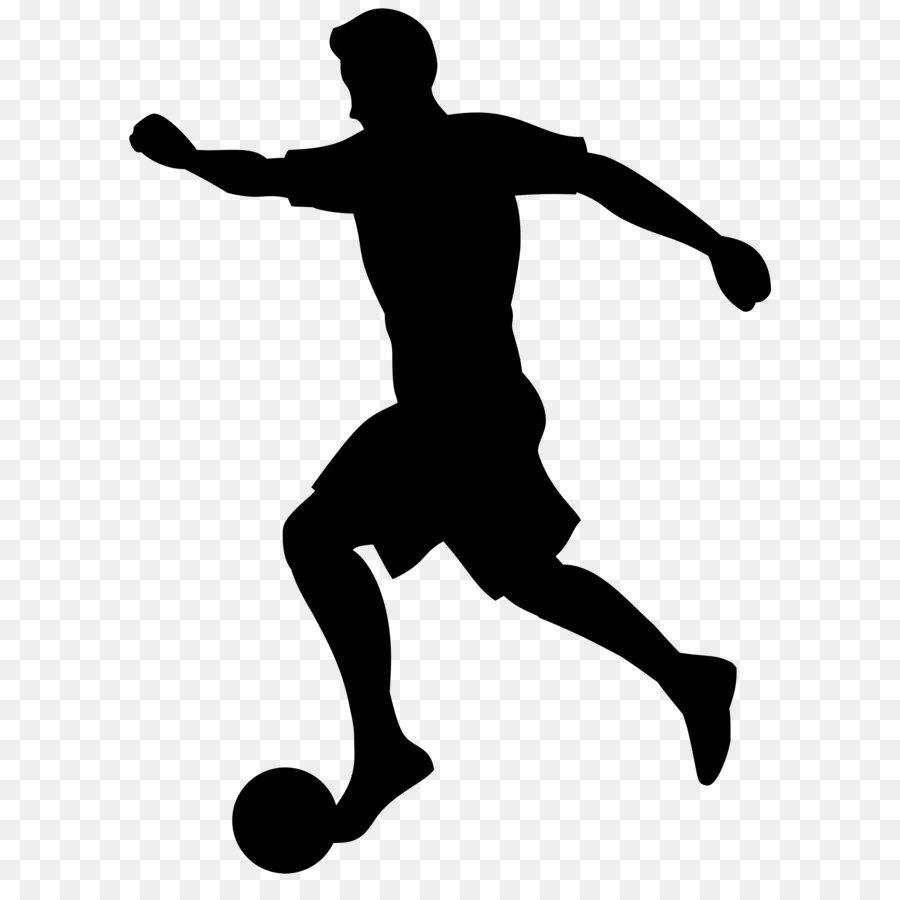 Descarga gratuita de Silueta, Fútbol, Jugador Imágen de Png