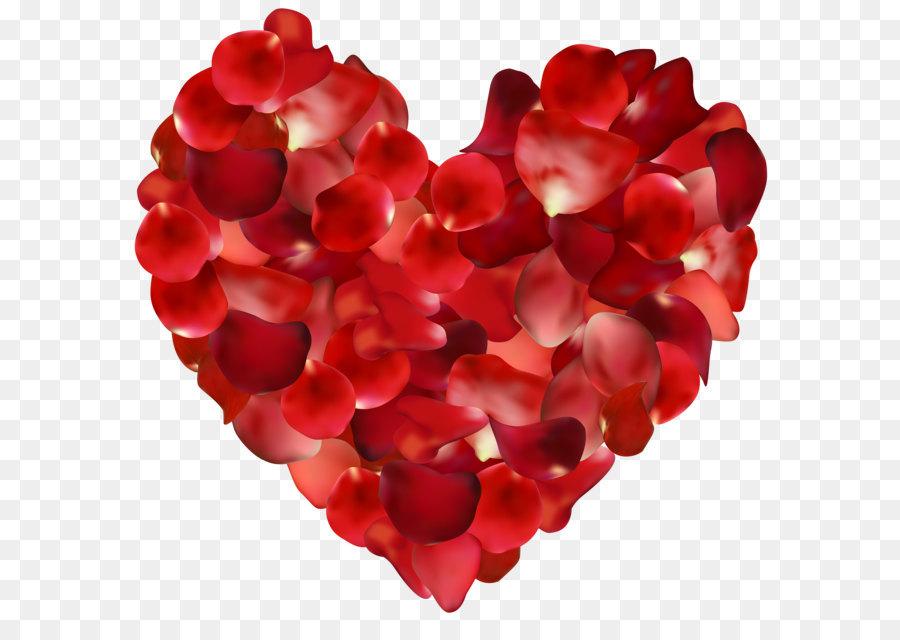 Descarga gratuita de Pétalo, Corazón, Flor imágenes PNG