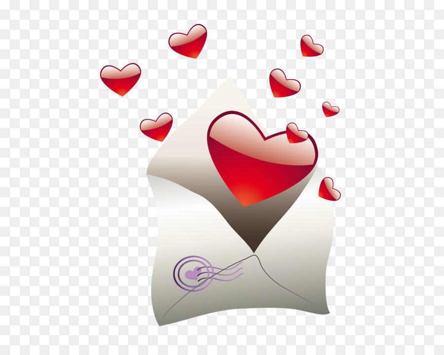 Descarga gratuita de Carta, Corazón, El Amor imágenes PNG