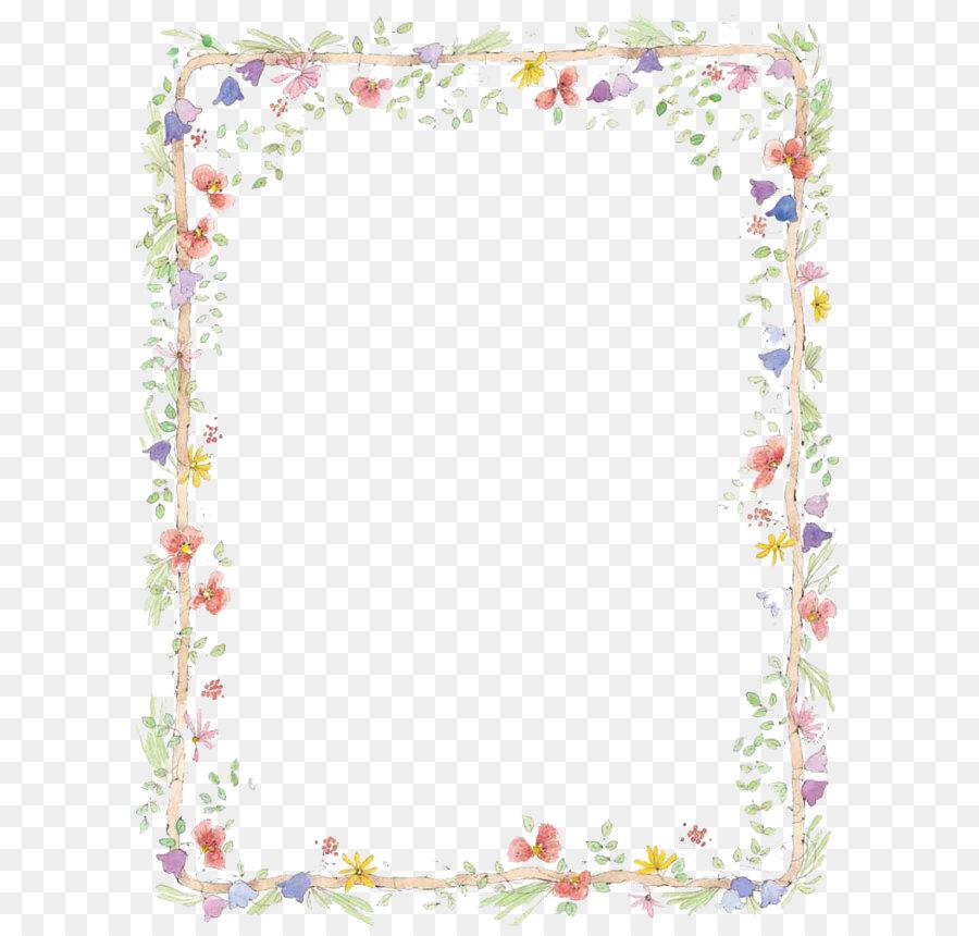 Descarga gratuita de Frontera Flores, Flor, Floral Diseño imágenes PNG