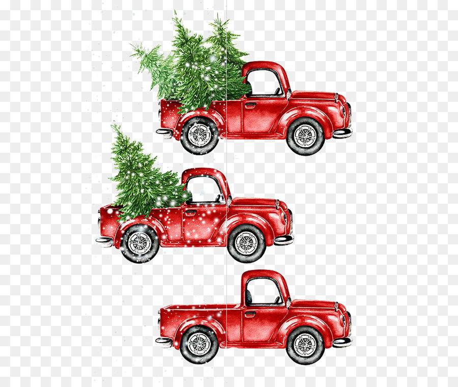 Descarga gratuita de La Navidad, Camión, Etsy imágenes PNG