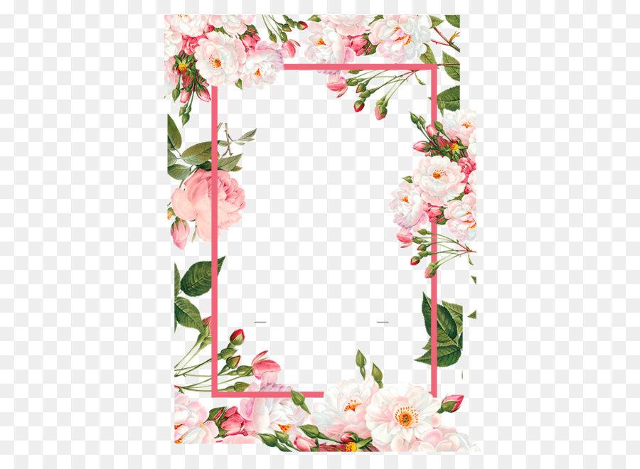 Descarga gratuita de Flor, Frontera Flores, Rosa imágenes PNG