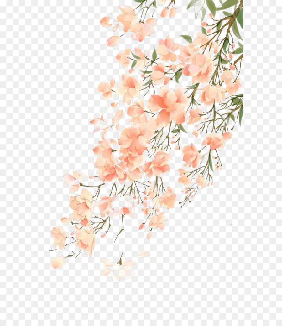 Descarga gratuita de Flor, Pintura, Floral Diseño imágenes PNG