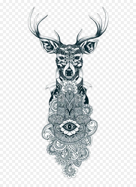 Descarga gratuita de Los Ciervos, Tatuaje, Hamsa Imágen de Png