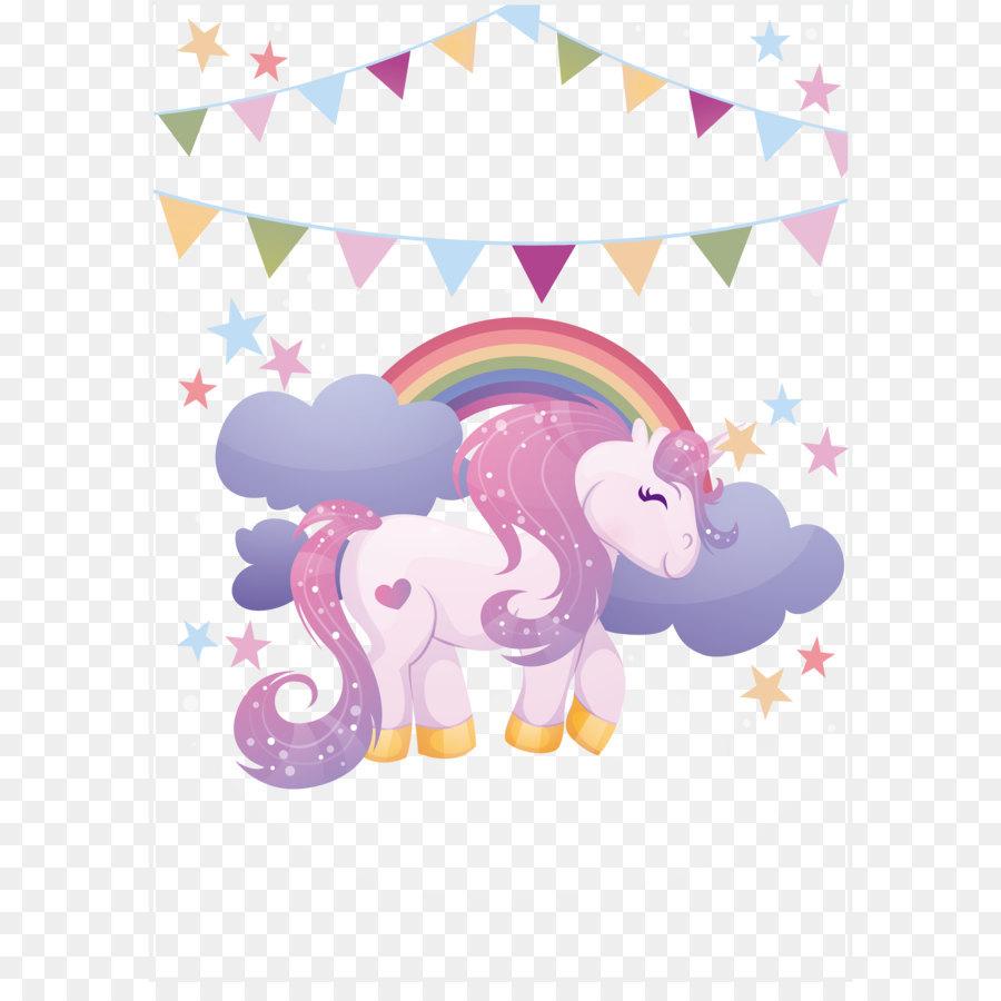 Descarga gratuita de Unicornio, Papel, Motivo imágenes PNG