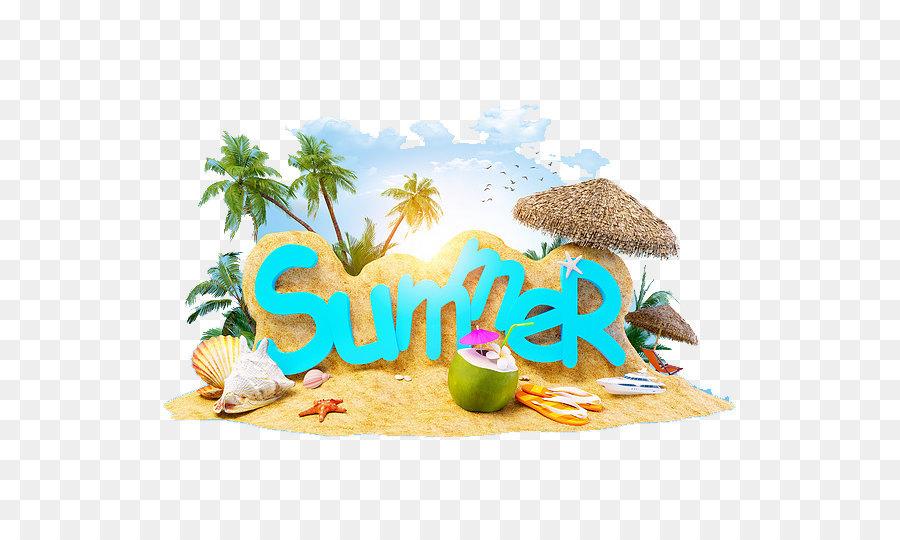 Descarga gratuita de Vacaciones, Playa, Verano4dos Imágen de Png