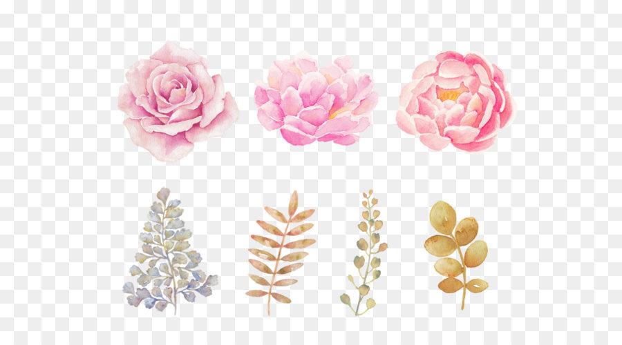Descarga gratuita de Flor, Pintura, Rosa Flores imágenes PNG