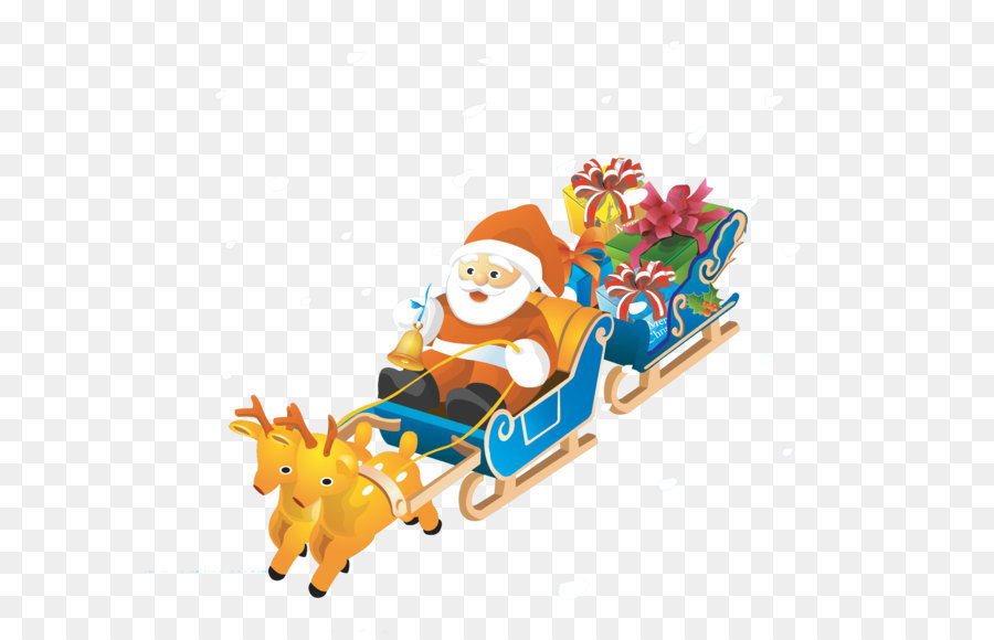 Descarga gratuita de Santa Claus, Los Ciervos, Norad Tracks Santa Imágen de Png