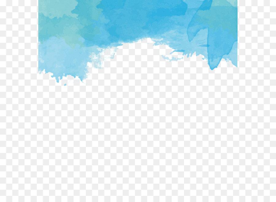 Descarga gratuita de Acuarela De Color , Azul, Pintura Imágen de Png