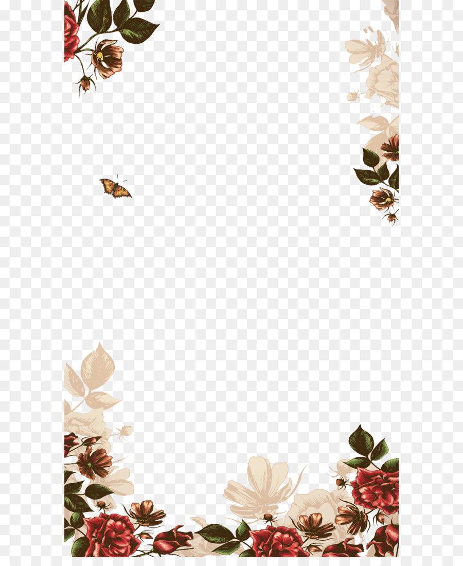 Descarga gratuita de Cartel, Floral Diseño, Flor imágenes PNG