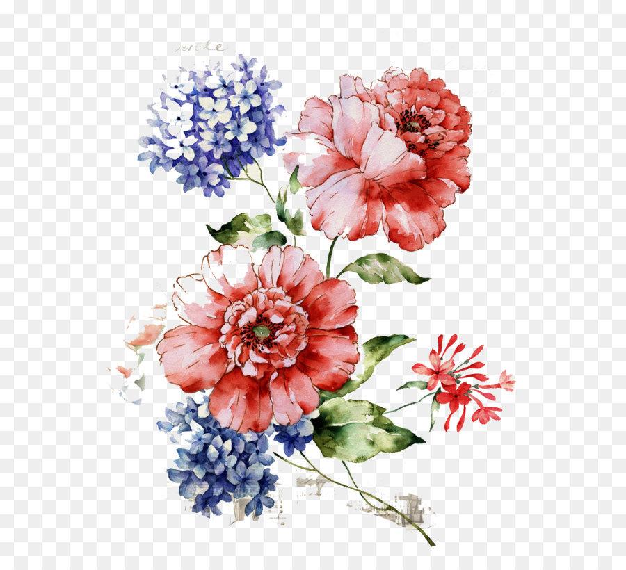 Descarga gratuita de Flor, Floral Diseño, Pintura Imágen de Png