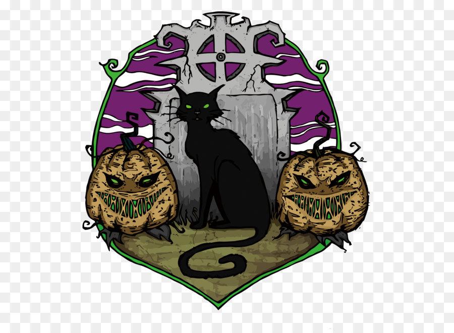 Descarga gratuita de Gato, Calabaza, Dibujo Imágen de Png