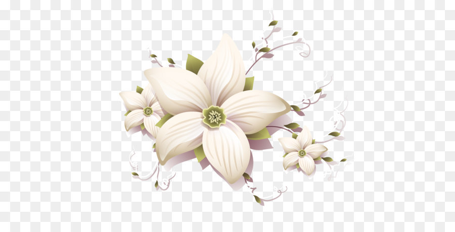 Descarga gratuita de Flor, Blanco, Diseñador Imágen de Png