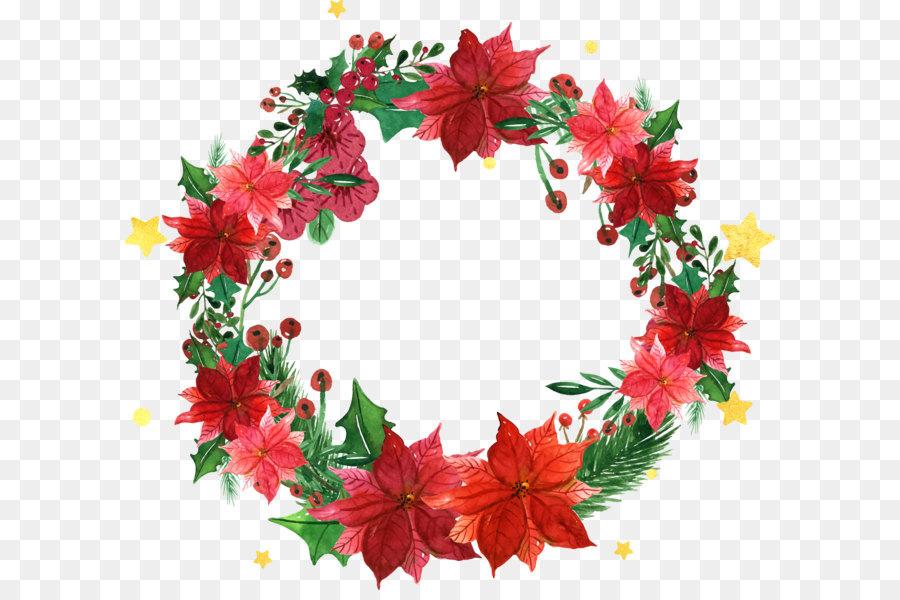 Descarga gratuita de Santa Claus, La Navidad, Guirnalda imágenes PNG