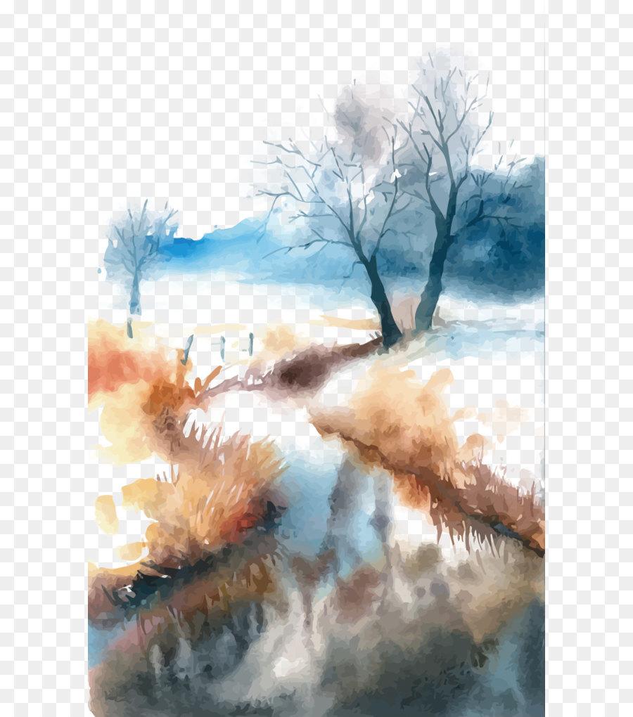 Descarga gratuita de Pintura, Fukei, Arte imágenes PNG