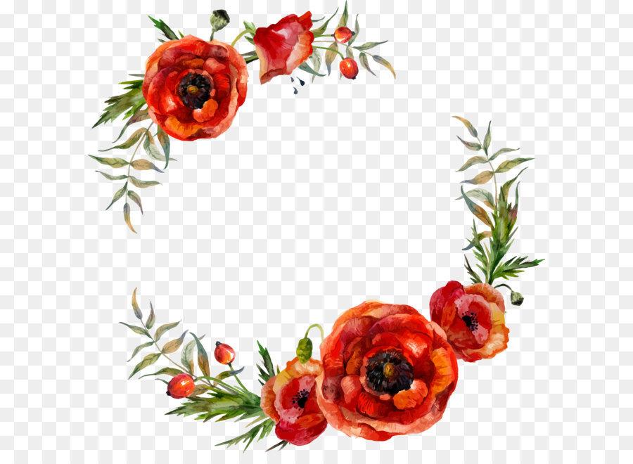 Descarga gratuita de Flor, Amapola, Rojo Imágen de Png