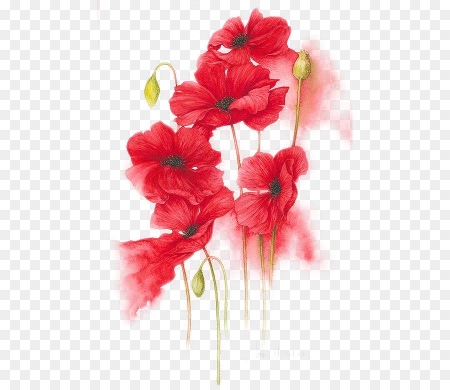 Descarga gratuita de Flor, Rojo, Floral Diseño Imágen de Png