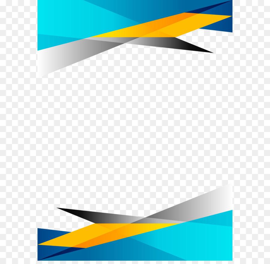 Descarga gratuita de Azul, Amarillo, Plantilla imágenes PNG