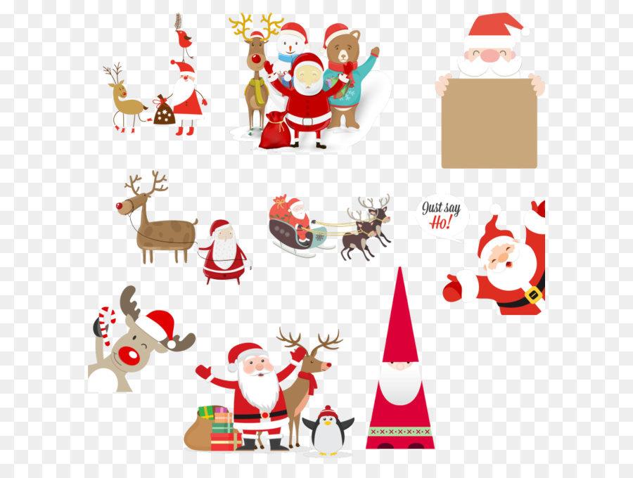 Descarga gratuita de Santa Claus, La Navidad, Festival Imágen de Png