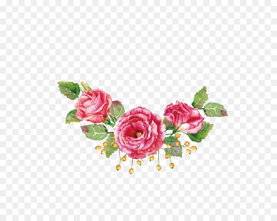 Descarga gratuita de Rosa, Flor, Pintura imágenes PNG