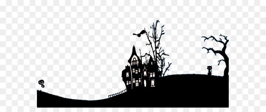 Descarga gratuita de Halloween Castillo, Calabaza, Luna Llena Imágen de Png