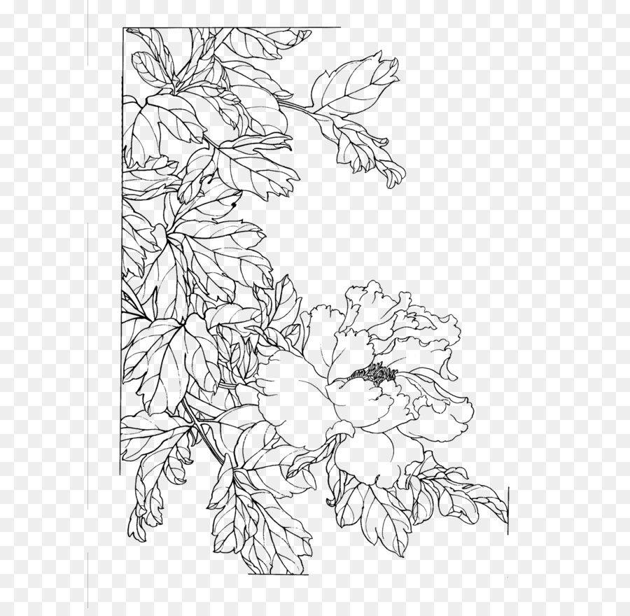 Descarga gratuita de Manual De La Semilla De Mostaza Jardín, Gongbi, Dibujo Imágen de Png