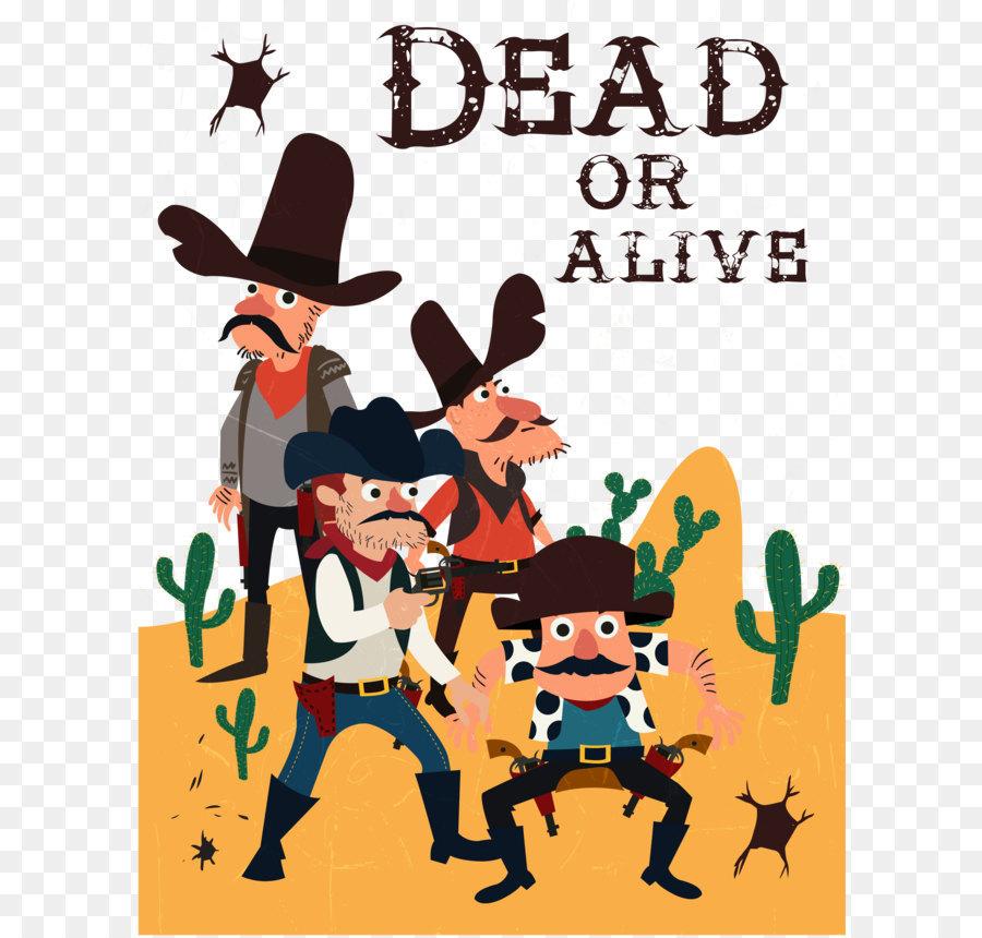 Descarga gratuita de Vaquero, Occidental, Dibujo Imágen de Png