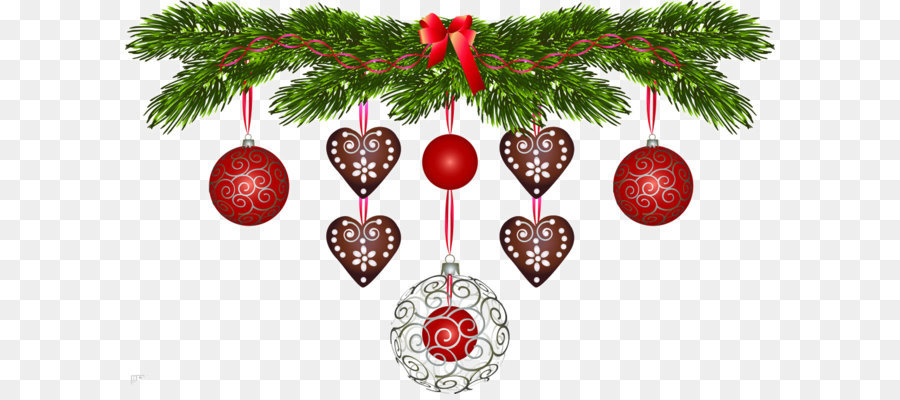 Descarga gratuita de Santa Claus, La Navidad, Guirnalda Imágen de Png