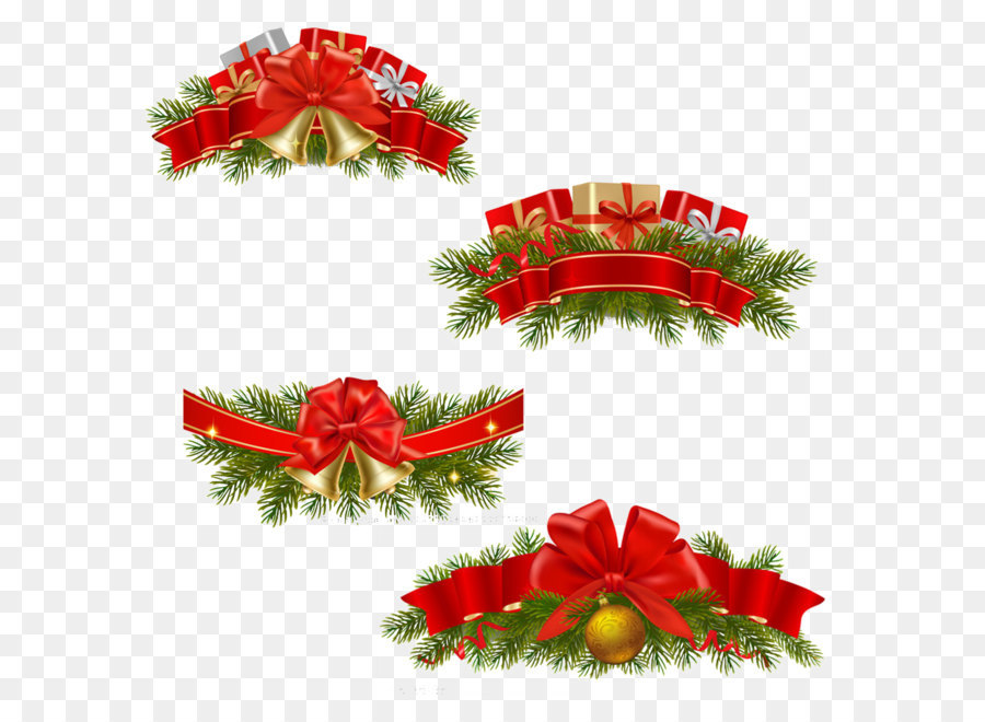 Descarga gratuita de La Navidad, Regalo, Guirnalda imágenes PNG