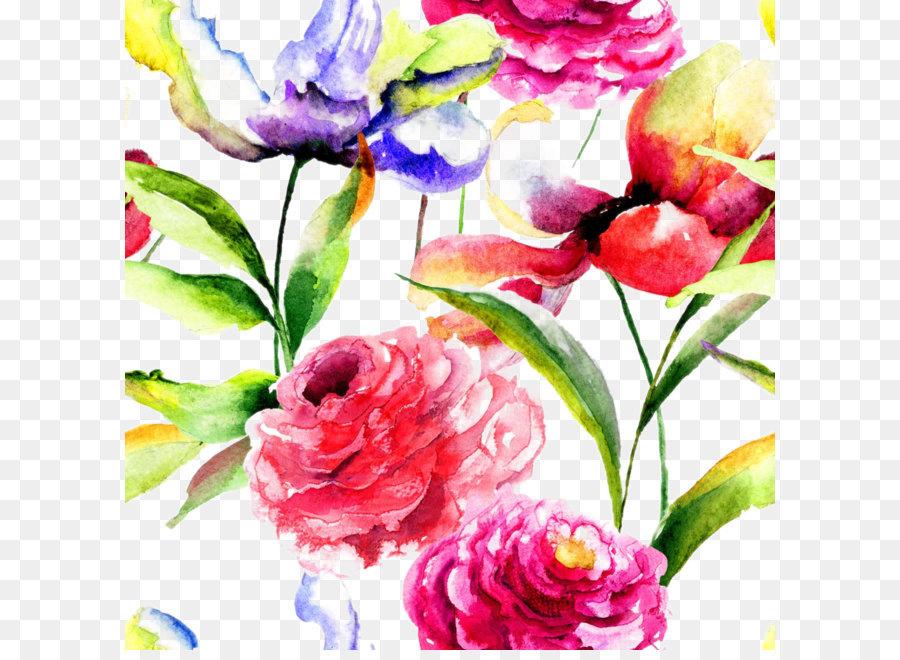 Descarga gratuita de Flor, Pintura, La Fotografía Imágen de Png