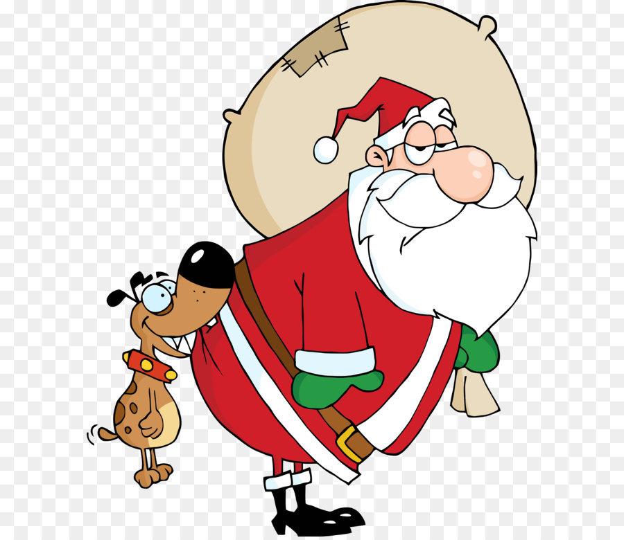 Descarga gratuita de Santa Claus, Perro, La Navidad Imágen de Png