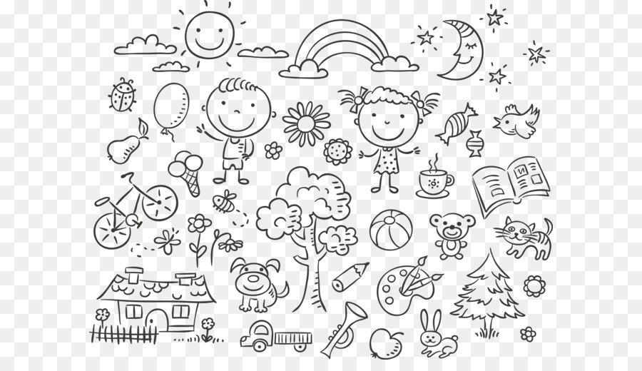Descarga gratuita de Doodle, Dibujo, Niño Imágen de Png