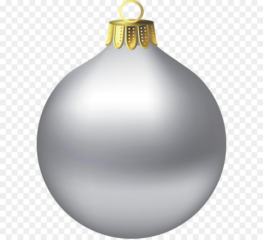 Descarga gratuita de La Navidad, Plata, Bola Imágen de Png